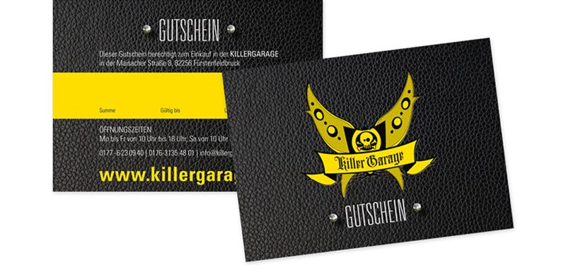 Gutschein | Killergarage